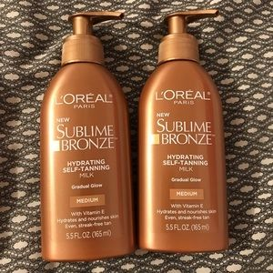 Sublime Bronze Hydrating Self Tanning Milk medium